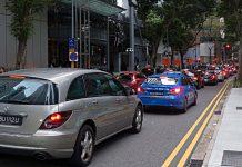 Verkehr in Singapur. Foto: dpa