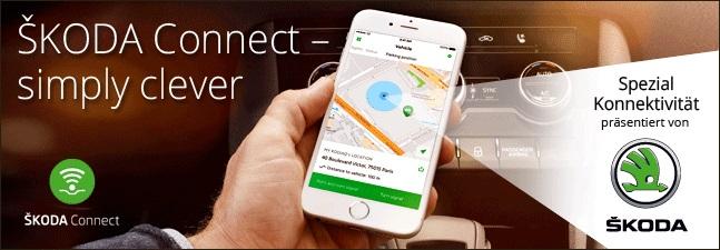 Skoda bietet Connectdienste in seinen Modellen an