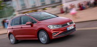 VW hat den Golf Sportsvan aufgefrischt. Foto: VW