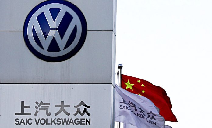 VW legt in China kräftig zu.