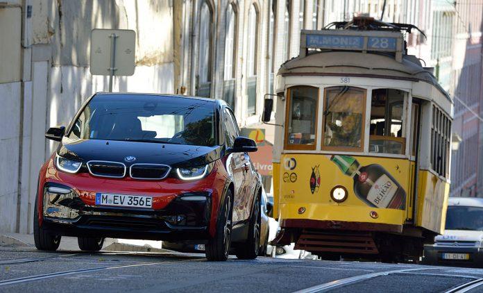 Der BMW i3s. Foto: BMW