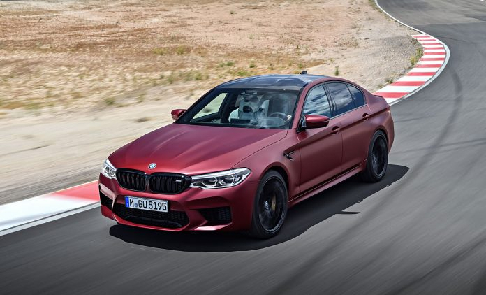 Der BMW M5. Foto: BMW
