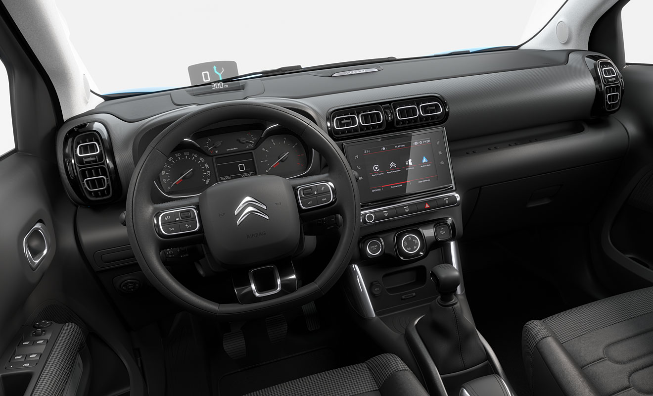 citroen c3 aircross cockpit. Black Bedroom Furniture Sets. Home Design Ideas