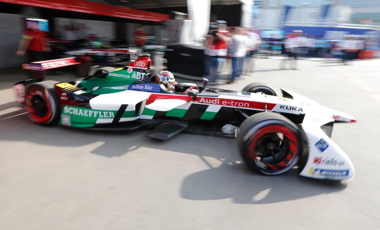 Formel E-Pilot Daniel Abt