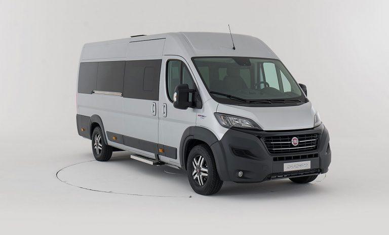 Fiat Ducato als Minibus für 17 Personen