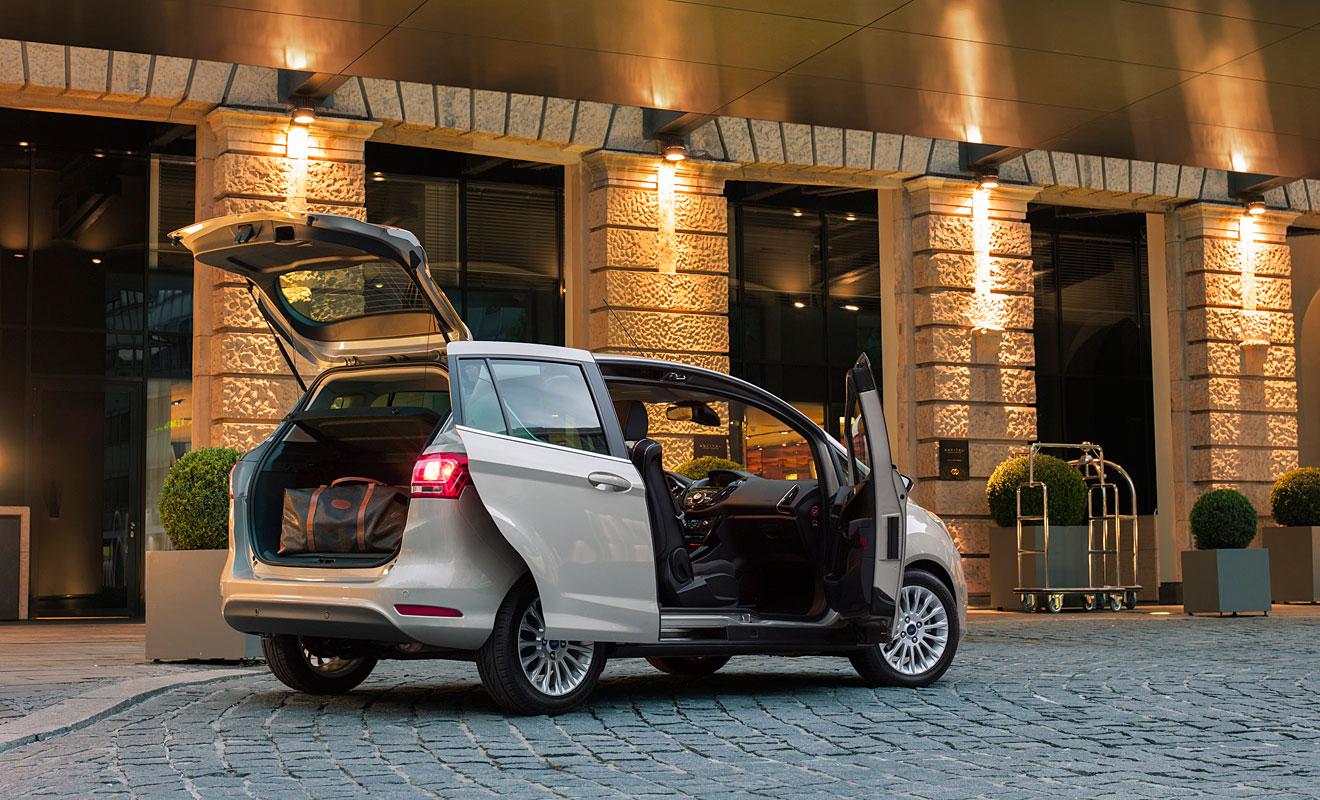Der B-Max. Foto: Ford