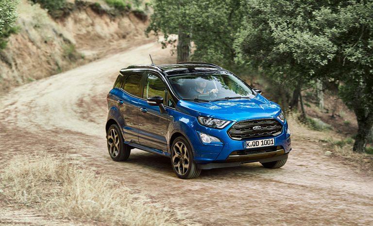 Ford Ecosport: Unterstützung vom Fiesta