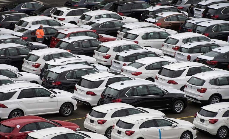 Delle für deutschen Automarkt im März