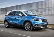 Der Opel Crossland X. Foto: Opel