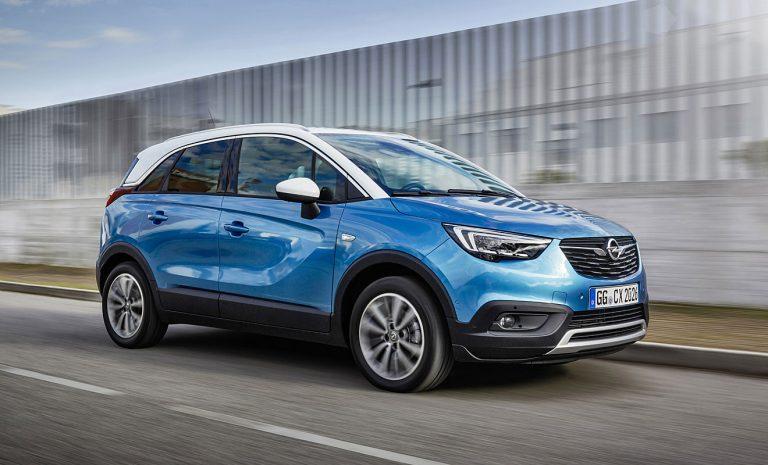 100.000 Verkäufe für  Opel Crossland X