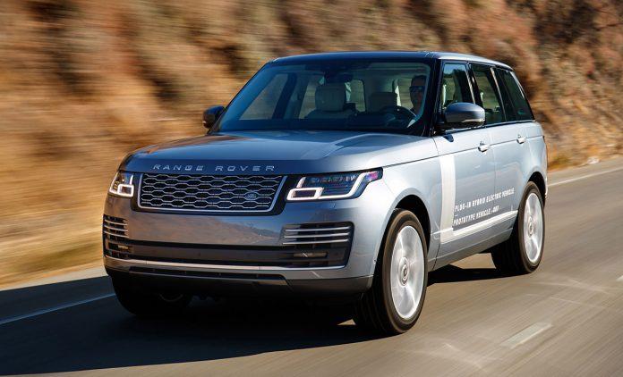 Der Range Rover kommt als Plugin-Hybrid