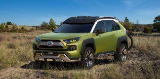 Die Toxota-Studie FT-AC. Foto: Toyota