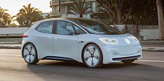 Der VW I.D. auf den Straßen Kaliforniens. Foto: VW