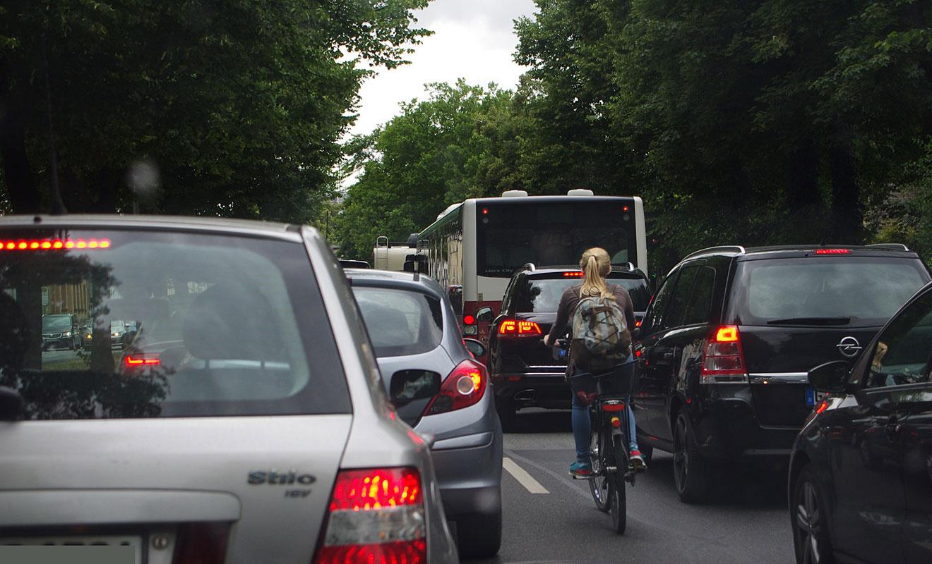 Staus sorgen für höhere Emissionen. Foto: SP-X