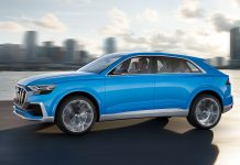 Der Q8 als Studie von 2017. Foto: Audi