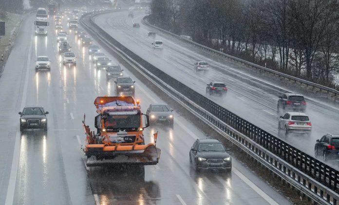Die Autobahn A8. Foto: dpa