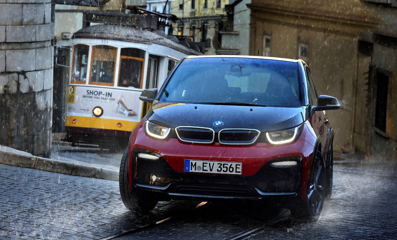 Der BMW i3s.