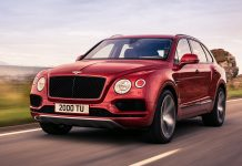 Der Bentley Bentayga V8. Foto: Bentley