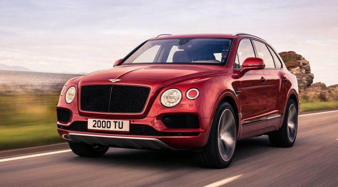 Der Bentley Bentayga V8. Foto: Bentley
