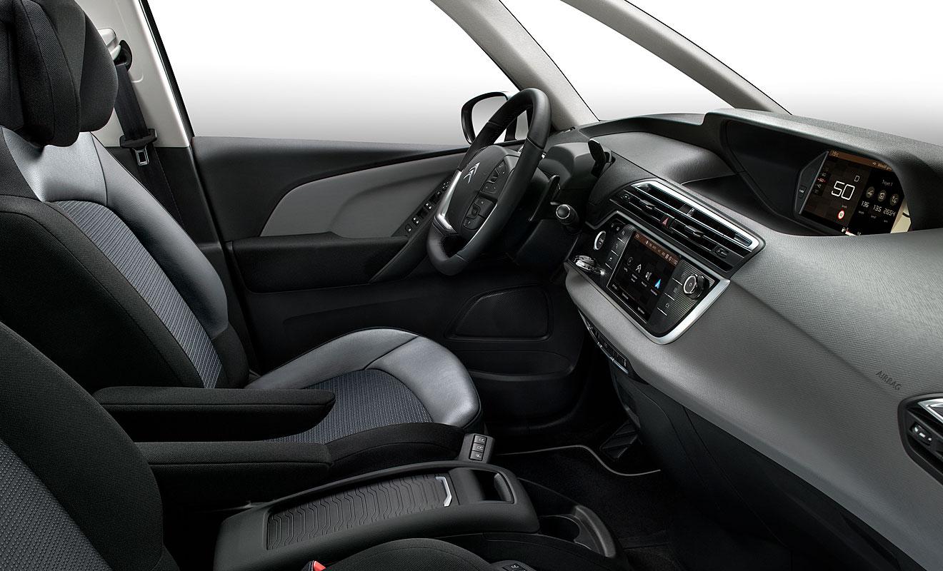 Das Cockpit des Citroen C4 Picasso. Foto: Citroen