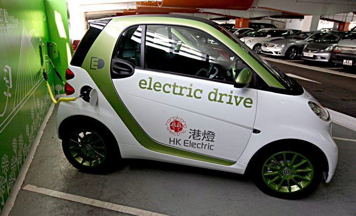 ELektroauto in China. Foto: dpa