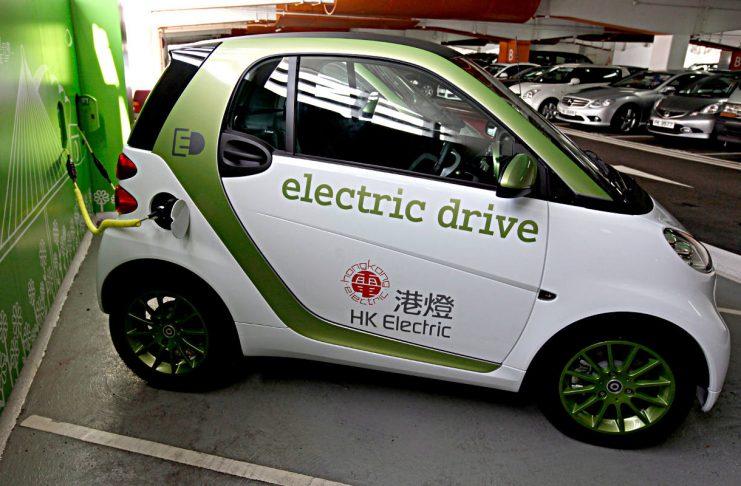 ELektroauto in China. Foto: dpa