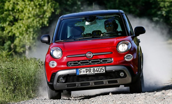 Der Fiat 500L Cross. Foto: Fiat