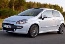 Der Fiat Punto. Foto: Fiat