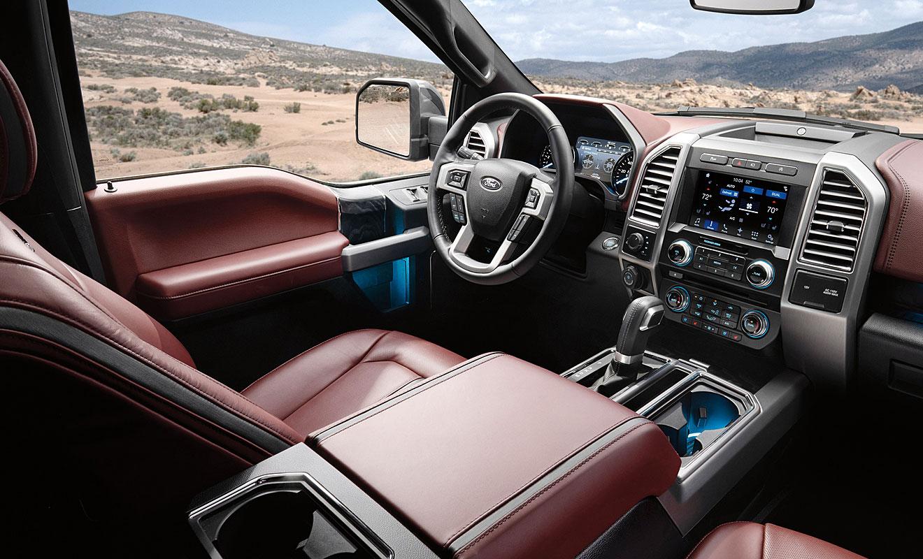 Das Cockpit des F-150. Foto: Ford