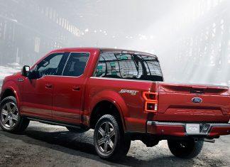 Das Heck des F-150. Foto: Ford