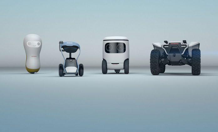 Die Robots von Honda. Foto: Honda