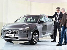 Der neue Hyundai Nexo. Foto: Hyundai/Bittmann
