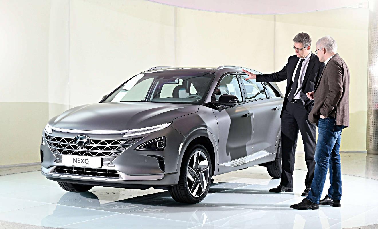 Hyundai Nexo: Leuchtturmprojekt der Koreaner - Autogazette.de