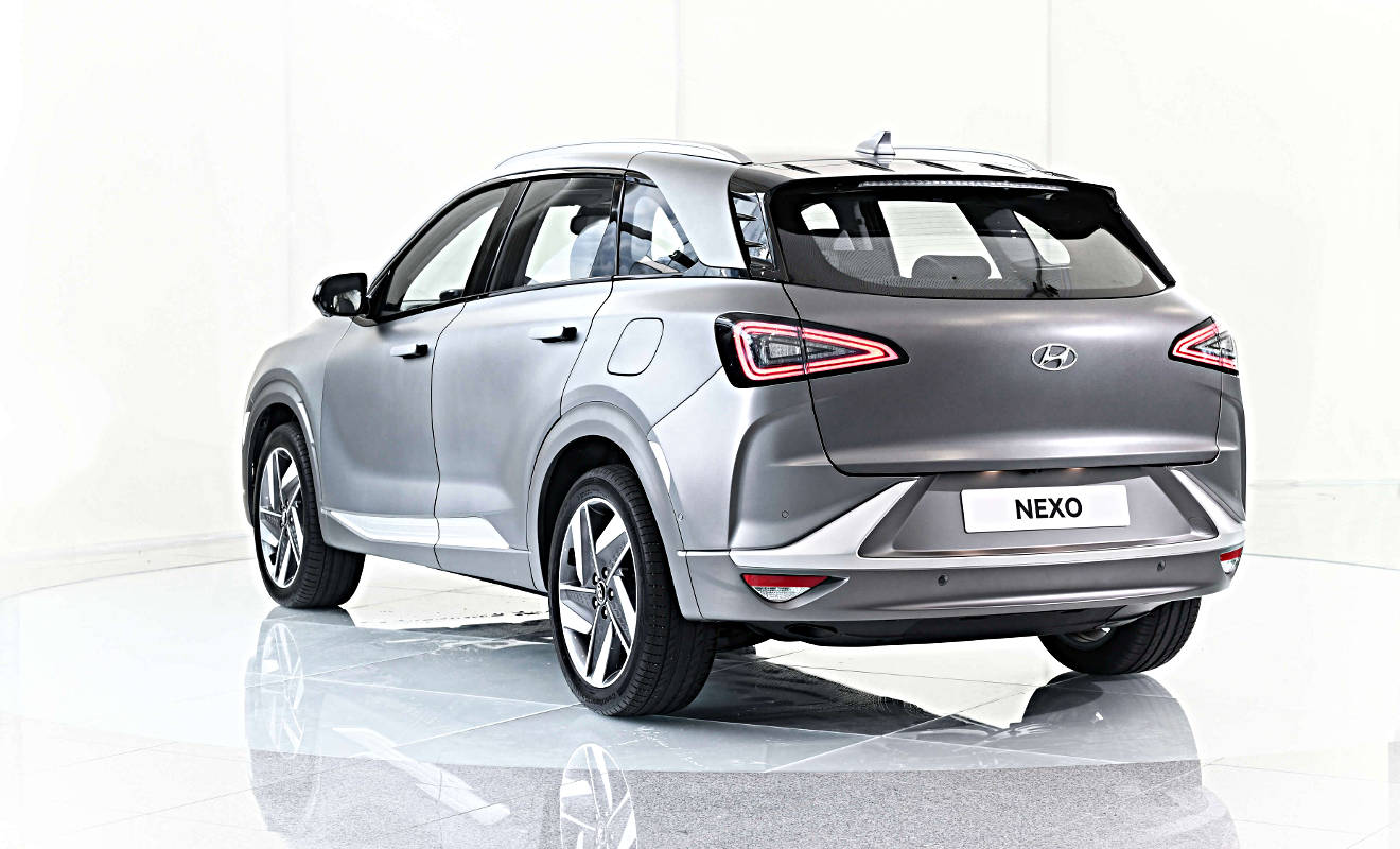 Heck des Hyundai Nexo