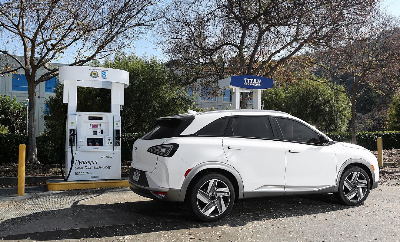 Der Hyundai Nexo schafft 800 Kilometer Reichweite. Foto: Hyundai