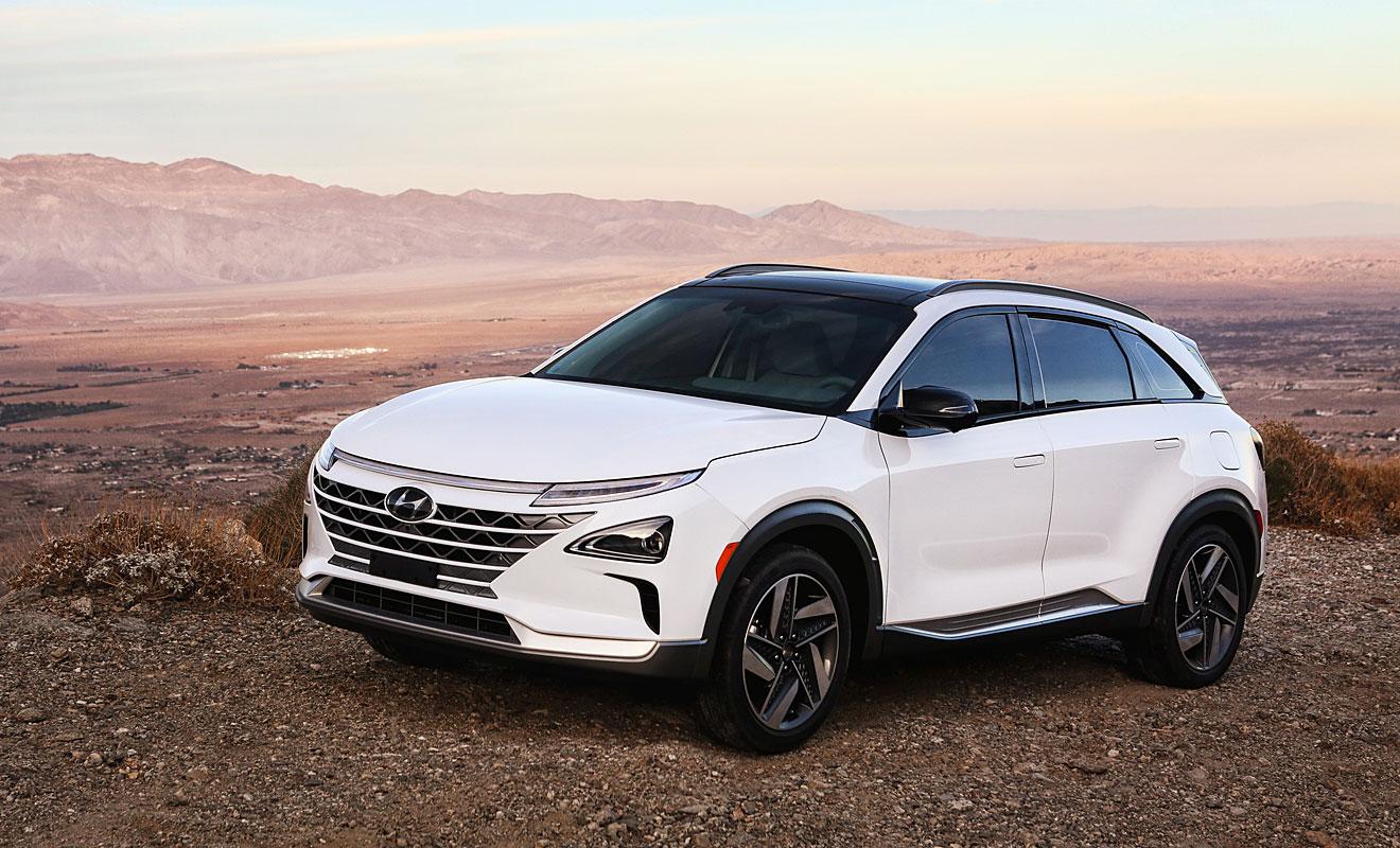 Brennstoffzellen-Hyundai Nexo kommt 2018