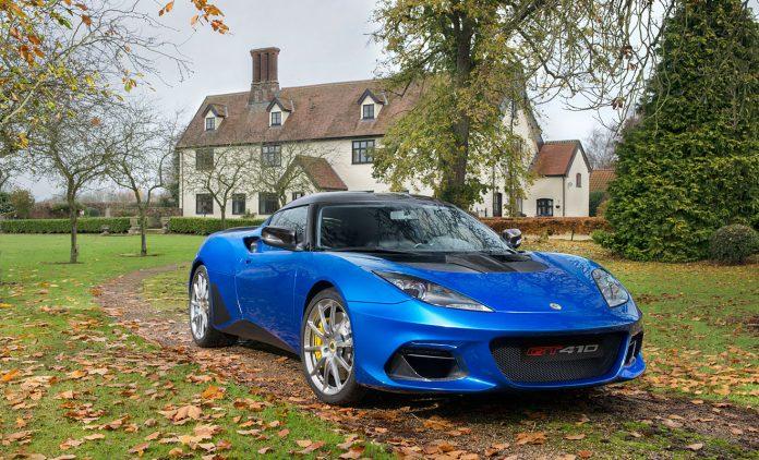 Der Evora GT410 Sport. Foto: Lotus