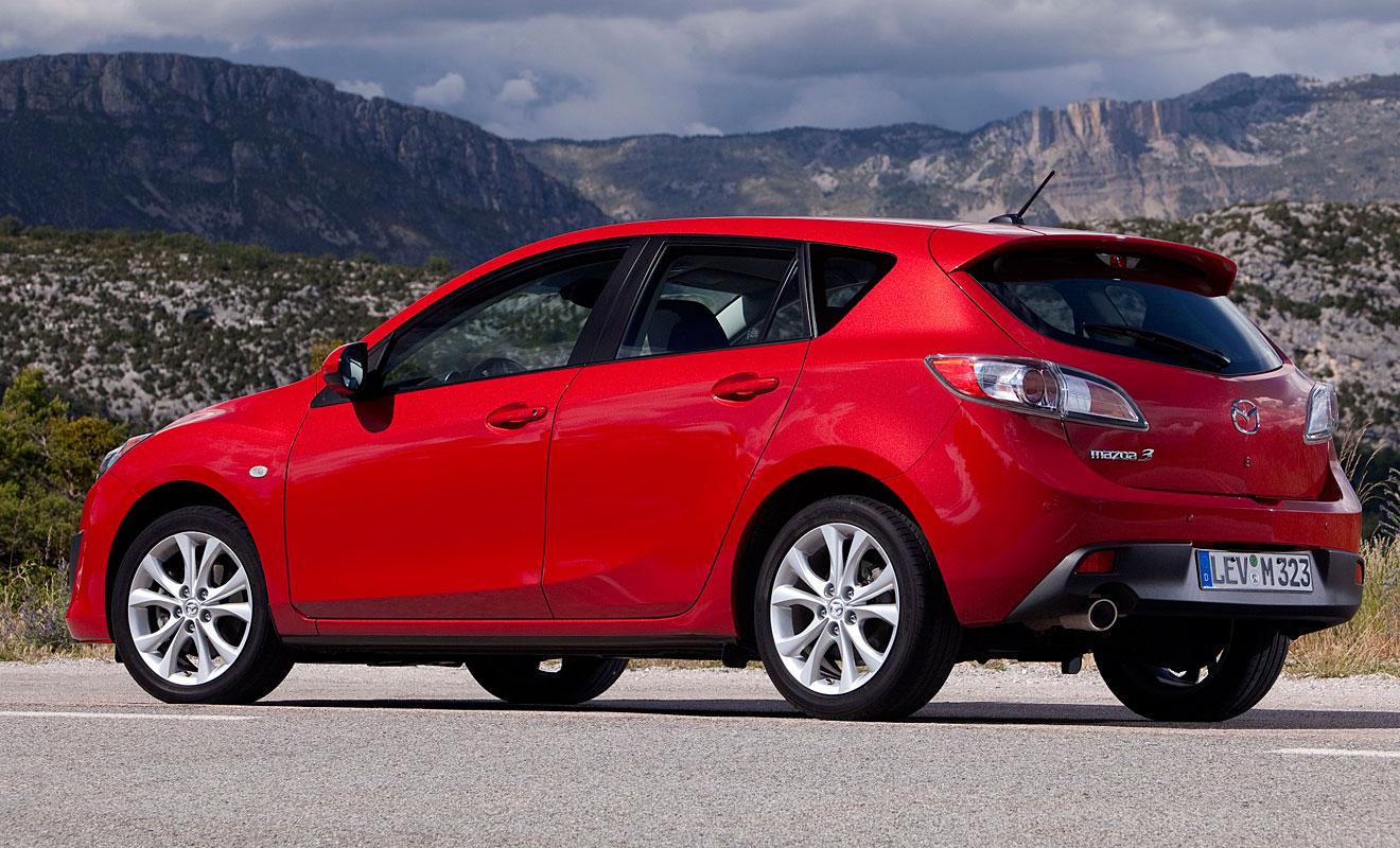 Die zweite Generation des Mazda3. Foto: Mazda