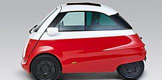 Das Elektroauto Microlino. Foto: Microlino