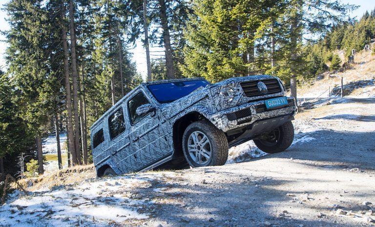 Mercedes G-Klasse: Kraxeln bis zum Gipfel