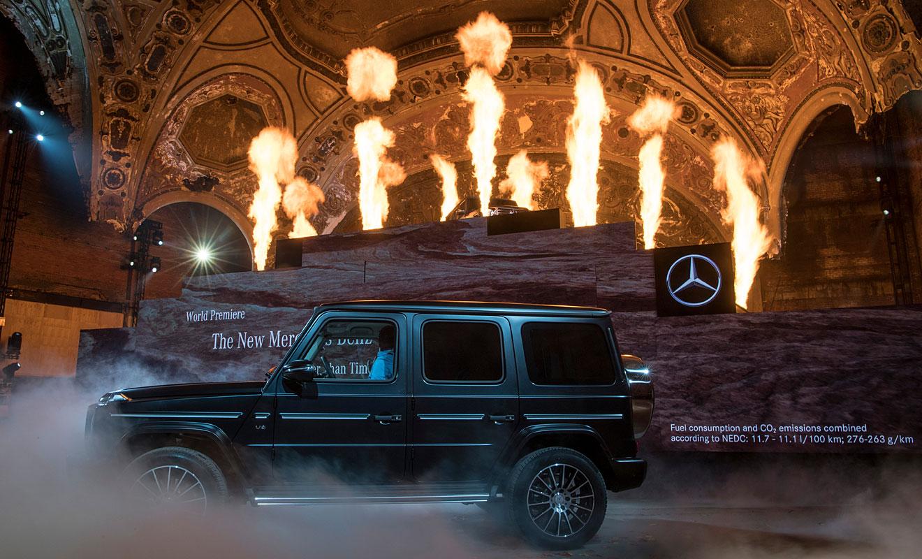 Die neue G-Klasse von Mercedes. Foto: dpa