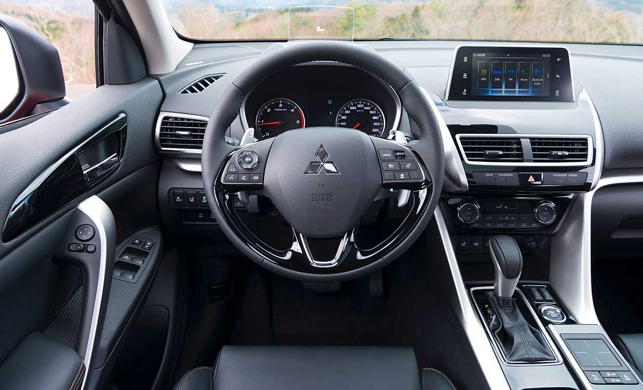 Das Cockpit des Eclipse Cross. Foto: Mitsubishi