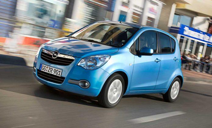 Der Opel Agila. Foto: Opel