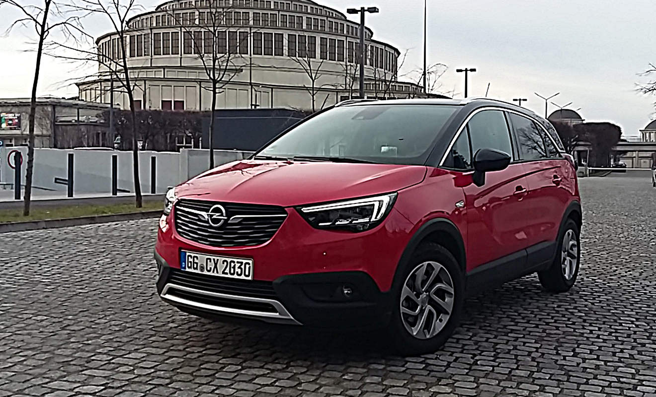 opel crossland x mit erfolgs potenzial. Black Bedroom Furniture Sets. Home Design Ideas