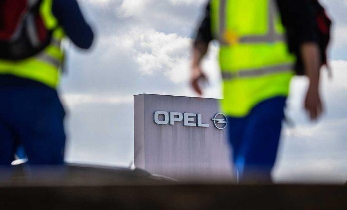 Kurzarbeit im Opel-Werk in Rüsselsheim. Foto: dpa