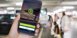 Die App von Parkmobile. Foto: BMW