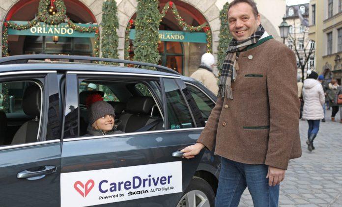 Care-Driver in München. Foto: Skoda
