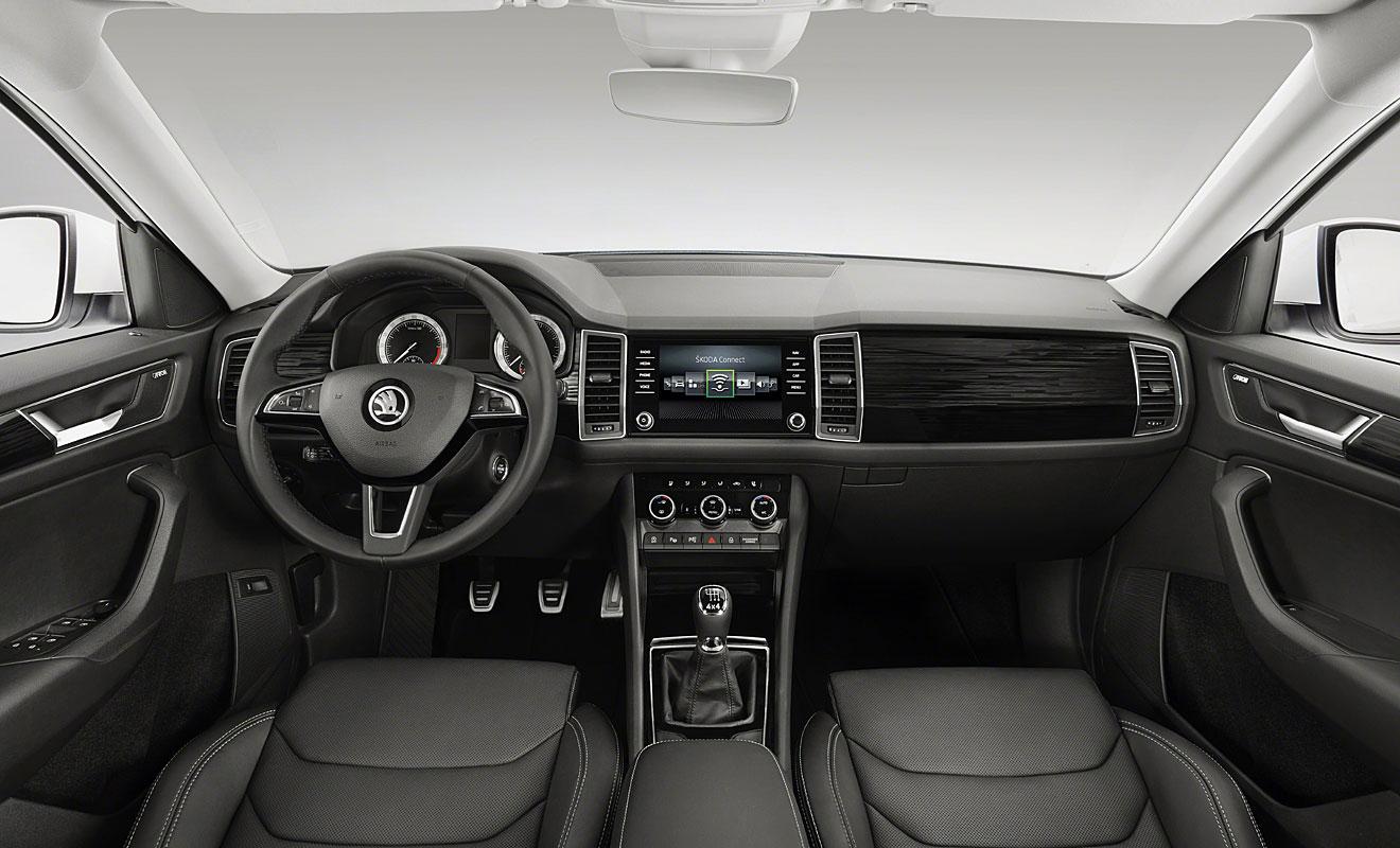 Das Cockpit des Kodiaq. Foto: Skoda