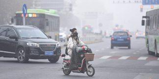 Smog in China. Foto: dpa
