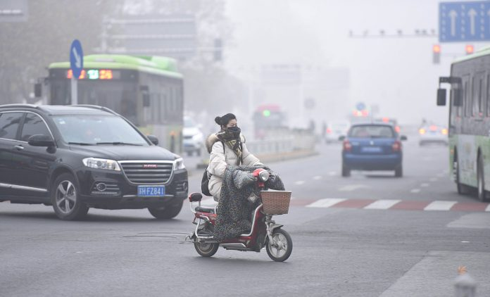 Smog in China. Foto: dpa
